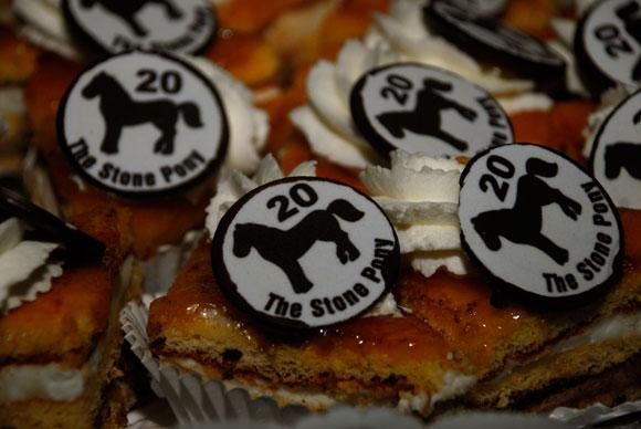 Pastel Aniversario de Dolceria Pujol, Berga