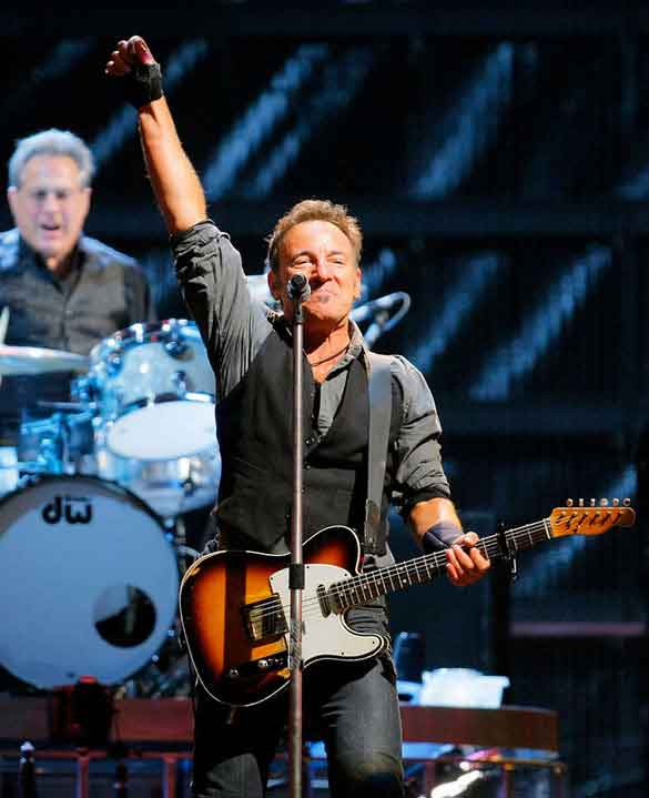 bruce springsteen en el giants